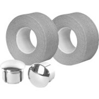 Velox Tressostar Cotton Bar Tape - Grey