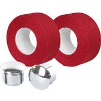 Velox Tressostar Cotton Bar Tape - Flame Red
