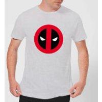 Marvel Deadpool Clean Logo T-Shirt - Grey - L - Grey