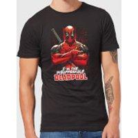 Marvel Deadpool Crossed Arms T-Shirt - Black - XXL - Black