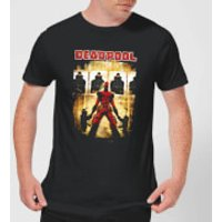 Marvel Deadpool Target Practice T-Shirt - Black - L - Black