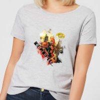 Marvel Deadpool Outta The Way Nerd Women's T-Shirt - Grey - 5XL - Grey