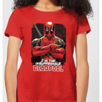 Marvel Deadpool Crossed Arms Women's T-Shirt - Red - M - Red
