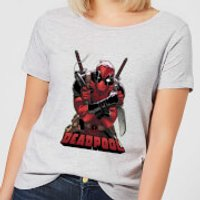 Marvel Deadpool Ready For Action Women's T-Shirt - Grey - 5XL - Grey