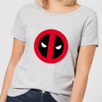 Marvel Deadpool Clean Logo Women's T-Shirt - Grey - 3XL - Grey