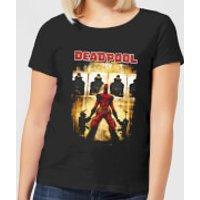 Marvel Deadpool Target Practice Women's T-Shirt - Black - 4XL - Black