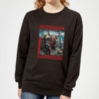Marvel Deadpool Here Lies Deadpool Women's Sweatshirt - Black - S - Black