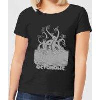 Beershield Octoholic Women's T-Shirt - Black - XL - Black