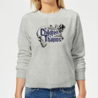 Marvel Avengers Infinity War Children Of Thanos Women's Sweatshirt - Grey - XS - Grey - Children Gifts