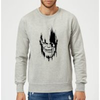 Marvel Avengers Infinity War Thanos Face Sweatshirt - Grey - M - Grey
