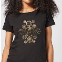 Marvel Avengers Infinity War Icon Women's T-Shirt - Black - XL - Black
