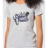 Marvel Avengers Infinity War Children Of Thanos Women's T-Shirt - Grey - 5XL - Grey - Children Gifts