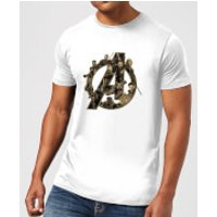 Marvel Avengers Infinity War Avengers Logo T-Shirt - White - S - White