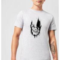 Marvel Avengers Infinity War Thanos Face T-Shirt - Grey - S - Grey