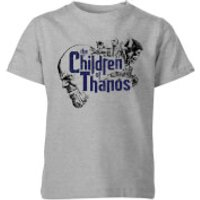Marvel Avengers Infinity War Children Of Thanos Kids' T-Shirt - Grey - 11-12 Years - Grey - Children Gifts