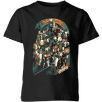 Marvel Avengers Infinity War Avengers Team Kids' T-Shirt - Black - 11-12 Years - Black - War Gifts