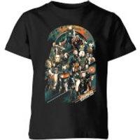 Image of Marvel Avengers Infinity War Avengers Team Kids' T-Shirt - Black - 7-8 Years - Black