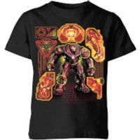 Marvel Avengers Infinity War Hulkbuster Kids' T-Shirt - Black - 11-12 Years - Black - War Gifts
