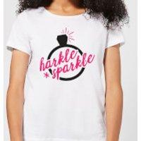 Harkle Sparkle Women's T-Shirt - White - 3XL - White