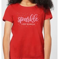 Sparkle Like Markle Women's T-Shirt - Red - XXL - Red - Sparkle Gifts
