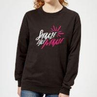 Sparkle Like Markle Women's Sweatshirt - Black - XXL - Black - Sparkle Gifts
