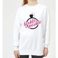 Harkle Sparkle Women's Sweatshirt - White - XXL - White - Sparkle Gifts