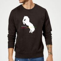 The Original Unicorn Sweatshirt - Black - XXL - Black