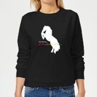 The Original Unicorn Women's Sweatshirt - Black - 3XL - Black