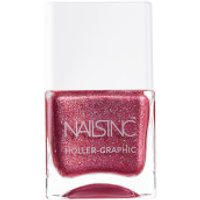 nails inc. Holler Graphic Molten My Day Nail Polish 14ml