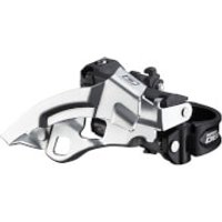 Shimano FD-M610 Deore 10-Speed Triple Front Derailleur - Top Swing - Dual Pull
