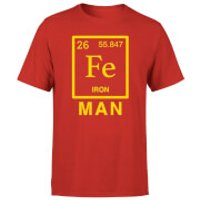 Fe Man T-Shirt - Red - M - Red