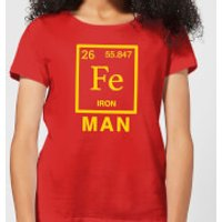 Fe Man Women's T-Shirt - Red - XXL - Red - Man Gifts
