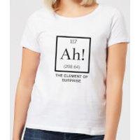 Ah The Element Of Surprise Women's T-Shirt - White - XL - White