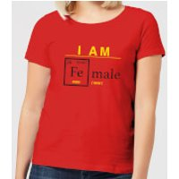 I Am Fe Male Women's T-Shirt - Red - S - Red