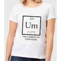 The Element Of Confusion Women's T-Shirt - White - XL - White