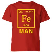 Fe Man Kids' T-Shirt - Red - 11-12 Years - Red - Man Gifts
