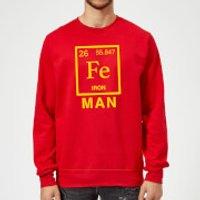 Fe Man Sweatshirt - Red - XXL - Red - Man Gifts