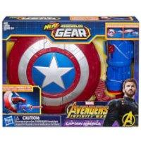 Hasbro Marvel Avengers Infinity War Nerf Captain America Assembler Gear
