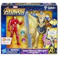 Hasbro Marvel Avengers 6 Inch Iron Man Vs. Thanos Battle Set - Iron Man Gifts