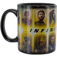 Marvel Avengers Infinity War Heat Change Mug