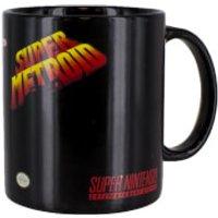 Super Metroid Heat Change Mug
