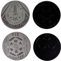 Star Wars Metal Coasters