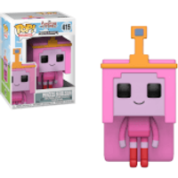 Adventure Time x Minecraft Princess Bubblegum Pop! Vinyl Figure - Adventure Time Gifts