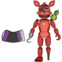 Five Nights at Freddy's Pizza Simulator Rockstar Foxy Action Figure - Action Gifts