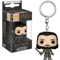 Game of Thrones Jon Snow Beyond the Wall Pop! Vinyl Keychain - Game Gifts