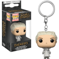 Game of Thrones Daenerys White Coat Pop! Vinyl Keychain - Game Gifts