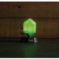The Legend of Zelda Green Rupee 3D Light - Iwoot Gifts