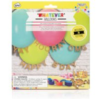 CELEBRATION NATION 'Whatever' Write Your Own Message Balloons (Includes 78 Letters) - Balloons Gifts