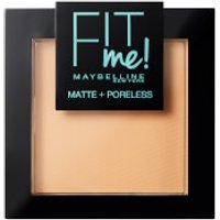 Maybelline Fit Me! Matte and Poreless Powder 9g (Various Shades) - 130 Buff Beige