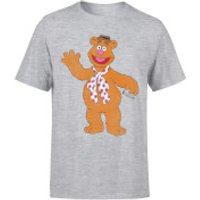Disney Muppets Fozzie Bear Classic T-Shirt - Grey - XXL - Grey - Muppets Gifts